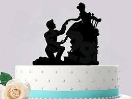 amazon com cinderella glass slipper fit inspired wedding cake