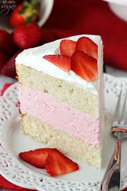 strawberry ice cream cake life love and sugar