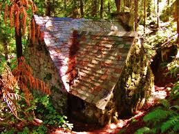 Leach Botanical Garden Roof Of Cabin Picture Of Leach Botanical Garden Portland