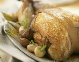 cuisiner une oie oie rôtie aux marrons et petits navets recettes a cuisiner
