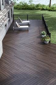 create a safe but open wood deck design using a multi level plan