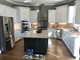 sherwin williams brown kitchen cabinets icicle iron ore kitchen 2 cabinet