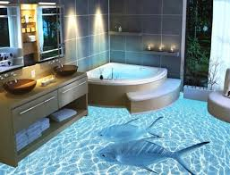 Bathroom Floor Designs  Best Bathroom Flooring Ideas On - Bathroom floor designs