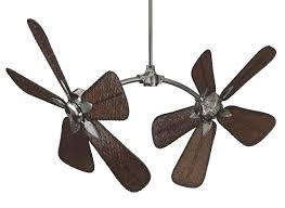 dual fan ceiling fan ceiling fan design fanimation caruso model series double ceiling