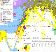 Map Of Turkey And Syria by The Gulf 2000 Project Sipa Columbia University