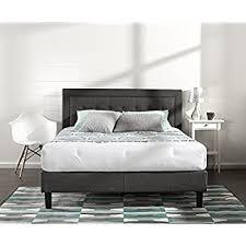 Tufted King Bed Frame Skyline Furniture Tufted Bed King Linen Grey