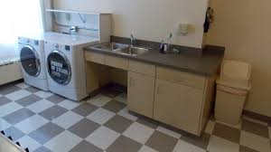 laundry in kitchen ideas home decor laundry room sinks with cabinet wall mirror for