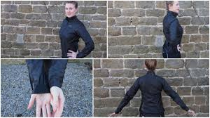 hardshell cycling jacket one lady gore tex shakedry bike jacket reviewed to
