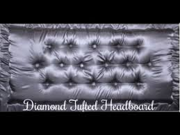 diy diamond tufted headboard tutorial home decor pegboard