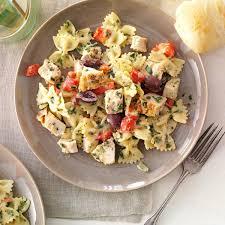 chicken pasta recipes taste of home