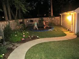 backyard in ground trampoline team galatea homes diy in ground