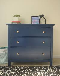 How To Paint Furniture Black by Ikea Hemnes Dresser Hack Hip Hip Home