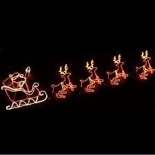 Christmas Decorations Rope Lights by Led Animated Christmas Decoration Rope Light Window Silhouettes