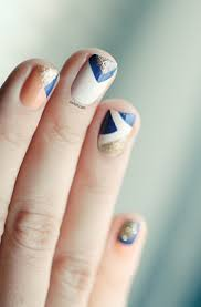 geometric nail design nail designs pinterest creativo