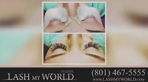lash my world beauty salons in salt lake city youtube