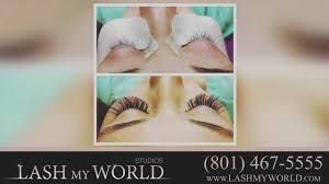 Hair Extensions Salt Lake City lash my world beauty salons in salt lake city youtube