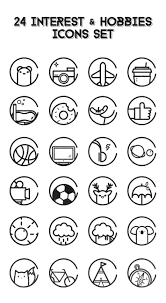 Interest And Hobbies For Resume Samples by 24 Interest N Hobbies Icons The Free Icons Would Be Debut Later