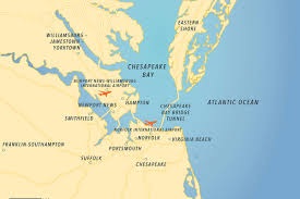 Map Of Virginia Beach The Impact Of Tourism Visit Cova