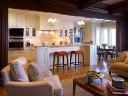 living room and kitchen ideas kitchen design ideas open living room and photos