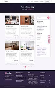 Drupal Hosting Title Rocket Html5 Template For Startup Hosting Mobile App Seo