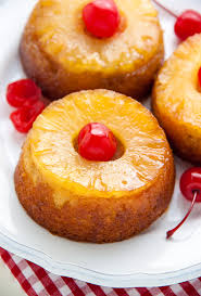 mini pineapple upside down cakes baker by nature