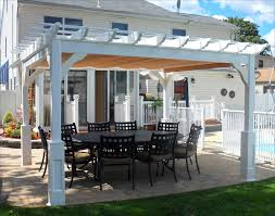 customer u0027s photo 10 u0027 x 12 u0027 vinyl deluxe 4 beam pergola