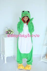 Frog Halloween Costumes Compare Prices Frog Pajamas Women Shopping Buy