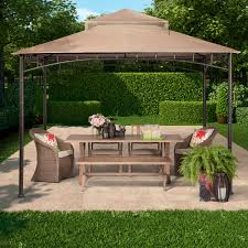 madaga 10 u0027 x 10 u0027 dark olive gazebo threshold