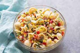 pasta salad with corn bacon and buttermilk ranch dressing recipe