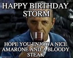 Storm Meme - happy birthday storm hannibal lecter chianti meme on memegen