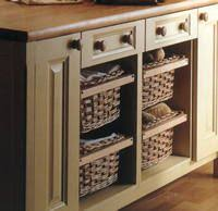 kitchen cabinets baskets kitchen baskets home design ideas and pictures