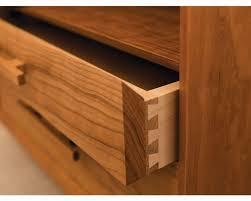 modern wide nightstand the joinery portland oregon