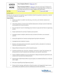 Manufacturing Engineer Resume Sample by Manufacturing Engineer Job Description Manufacturing Engineer