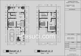desain rumah lebar 6 meter new desain rumah minimalis lebar 6 meter