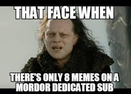 Mordor Meme - mordormemes