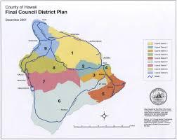 Map Of Hawaii Big Island Video Hawaii County Redistricting Controversy Begins