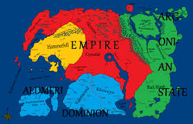 Map Of Nirn Why You Should Become An Imperial Not A Stormcloak The