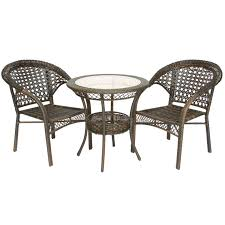 Outdoor Furniture 3 Piece by Bar Height 3 Piece Patio Furniture Set 3 Piece Outdoor Furniture