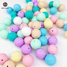 perle en bois pour attache tetine perles silicone sucette promotion achetez des perles silicone