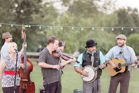Backyard Music Banjo Southern Backyard Wedding