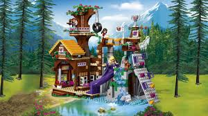 Tree House Home by 41122 Adventure Camp Tree House Products Lego Friends Lego