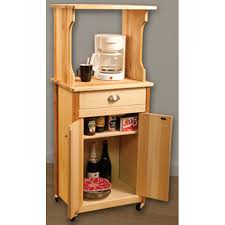 catskill craftsmen microwave cart with enclosed storage model 51530