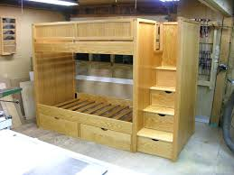 Wooden Bunk Beds Images Bunk Bed Plans Bunk Beds With Stairs By - Ikea wooden bunk beds
