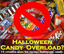 candy overload 15 things to do with extra halloween candy