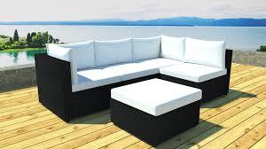 salon de veranda en osier awesome salon de jardin resine modulable pictures nettizen us