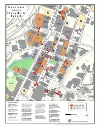 Ohio University Map by The 15 Tunnels And Skywalks Of Downtown Akron Akron Ohio Moms