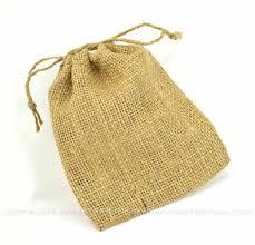 burlap drawstring bags burlap bags with jute drawstring set of 3 papertrey ink clear