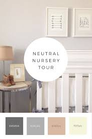 neutral nursery tour diy ideas pinterest neutral nurseries