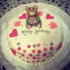 cute teddy bear happy birthday cake girls u2013 lovely mms