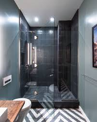 Masculine Bathroom Decor 13th Street Penthouse U2014 Jane Kim Design